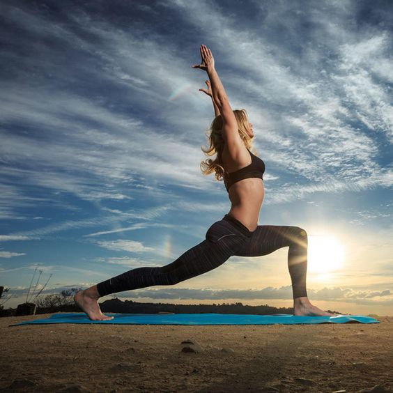 Springing into Yoga