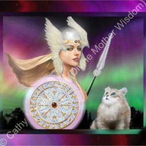 Divine Mother Wisdom Digital Art