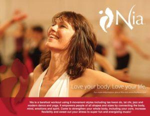 NIA Dancing with Lorraine Relleen Blue Belt Nia Teacher @ Kloof Hall   Kloof   KwaZulu-Natal   South Africa