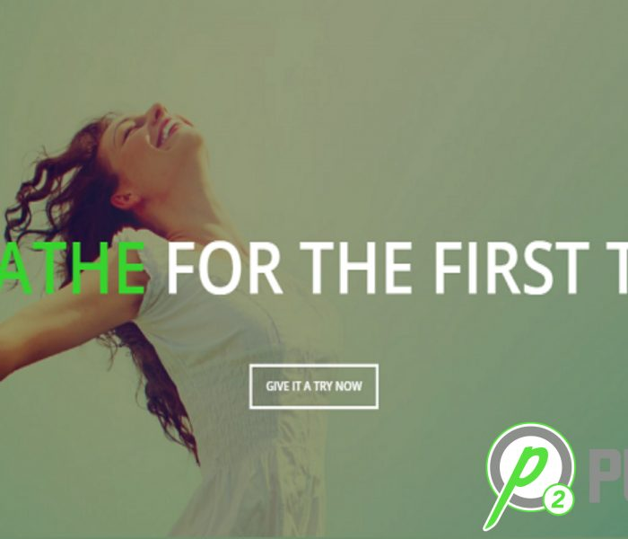 Breathe for the first time – PURE O2