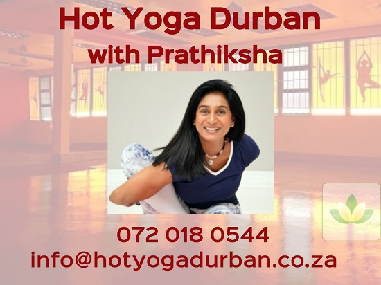 Hot Yoga Durban with Prathiksha Naidu