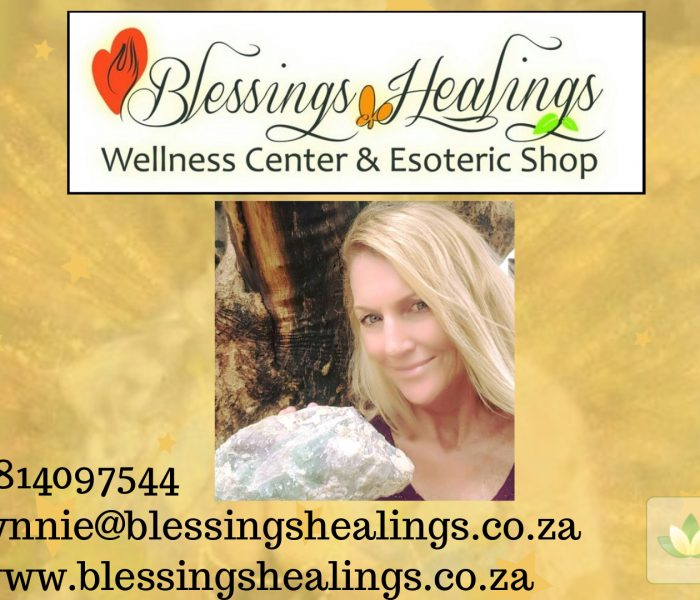 Lynnie ~ Blessings Healing Wellness Center & Esoteric Shop